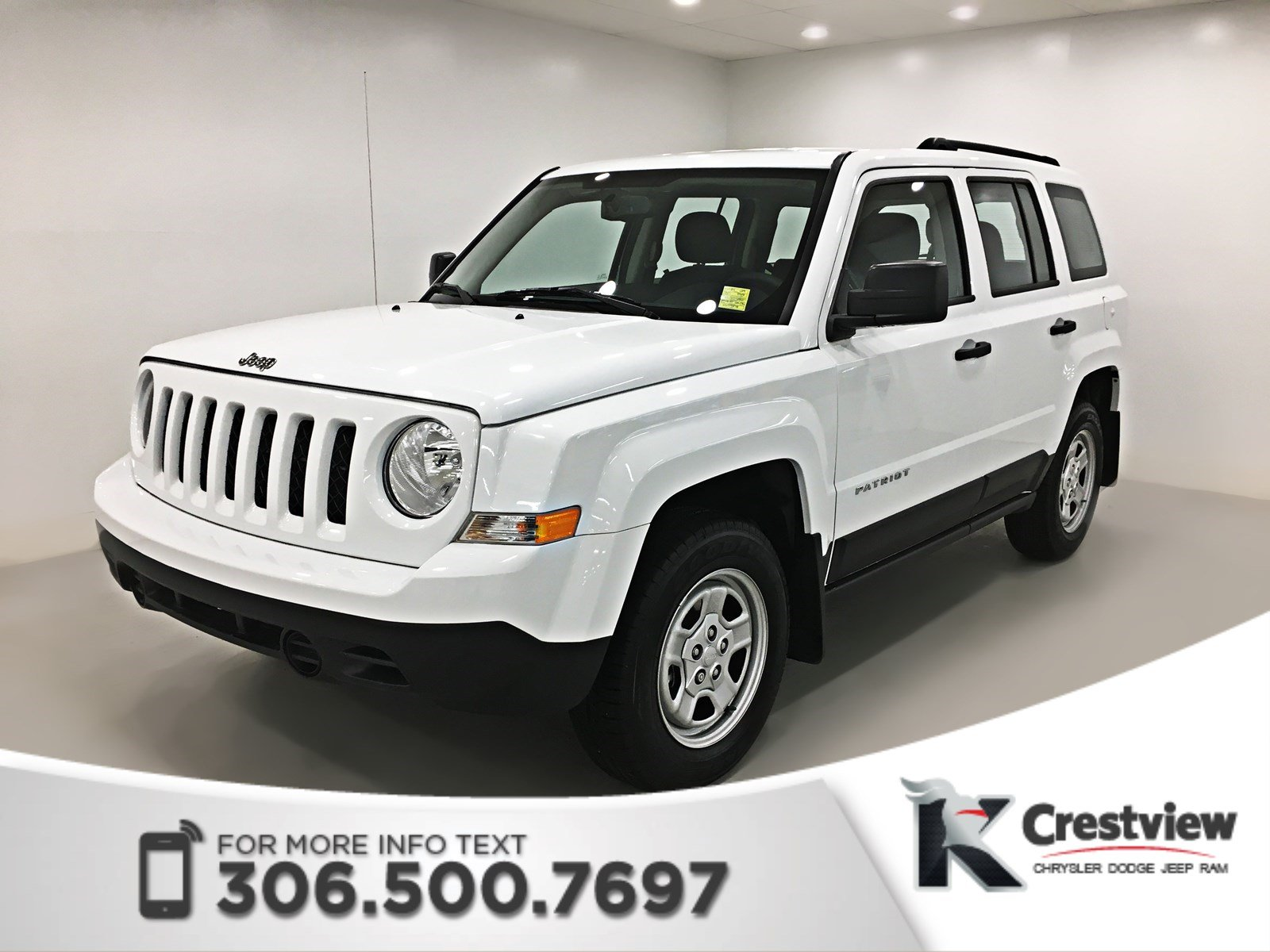 pre owned 2017 jeep patriot sport 4x4 sport utility in regina pp1484 knight automotive group. Black Bedroom Furniture Sets. Home Design Ideas