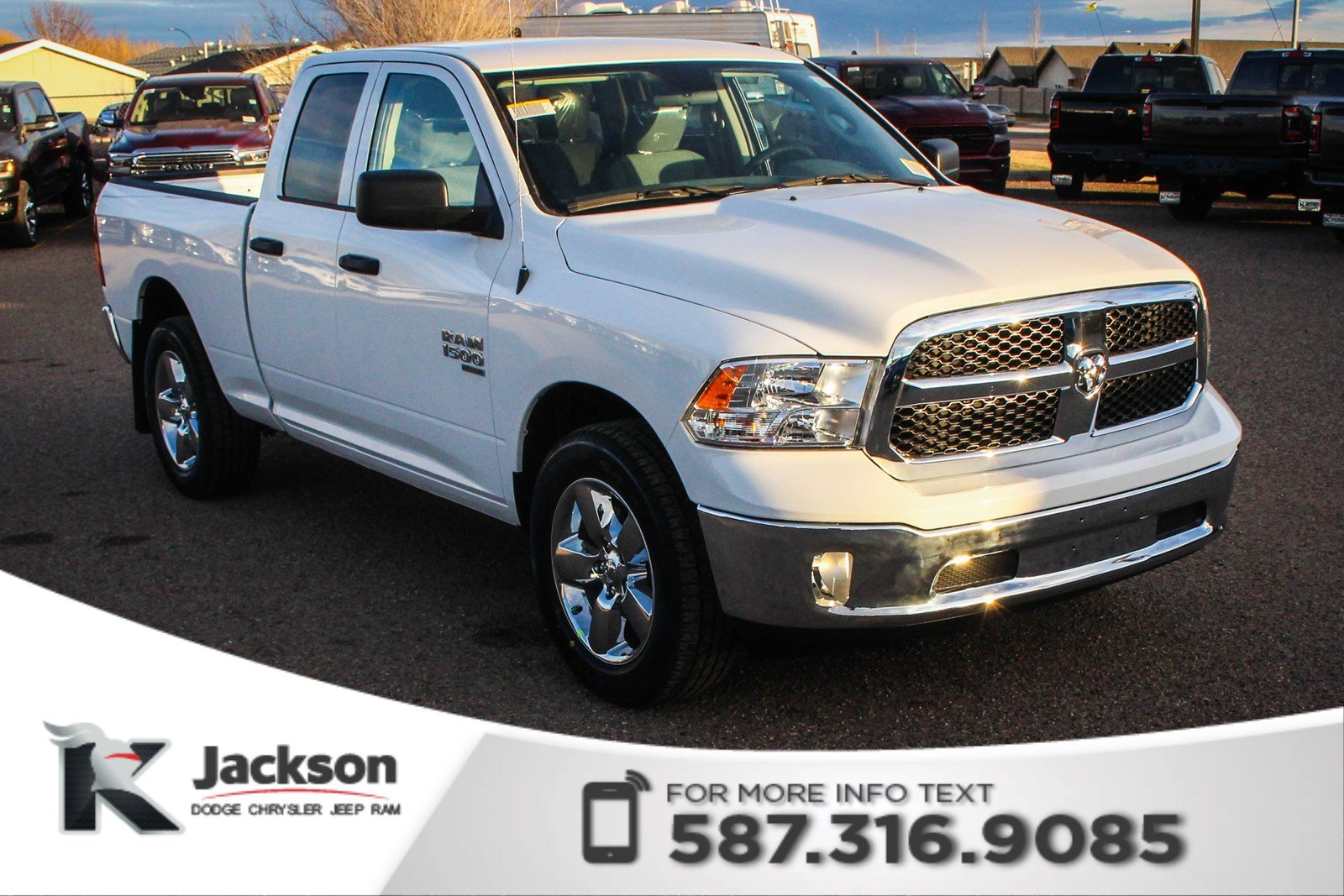 New 2019 Ram 1500 Classic Sxt Plus Quad Cab V6 Quad Cab In Medicine