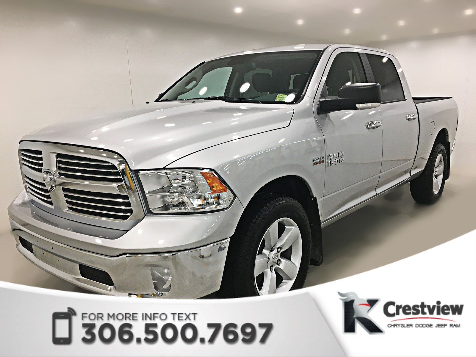 new 2017 ram 1500 slt crew cab 8 4 touchscreen crew cab pickup in regina 17t356 knight. Black Bedroom Furniture Sets. Home Design Ideas