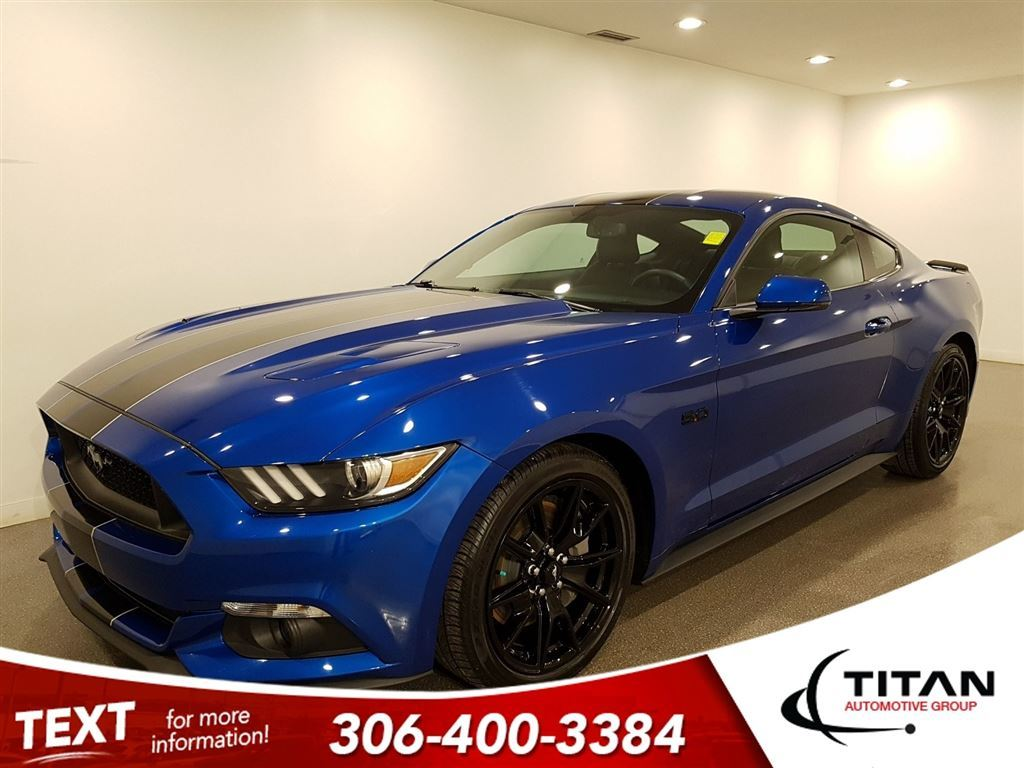 Pre Owned 2017 Ford Mustang Fastback Gt 50l Leather Roush Exhaust 2007 Fusion Sunroof Nav