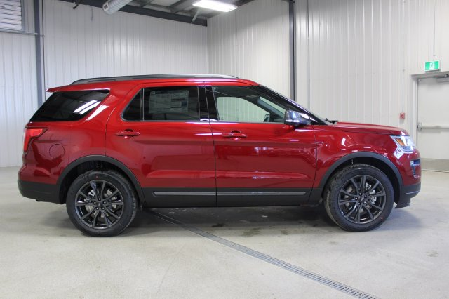 New  Ford Explorer Xlt Appearance Package