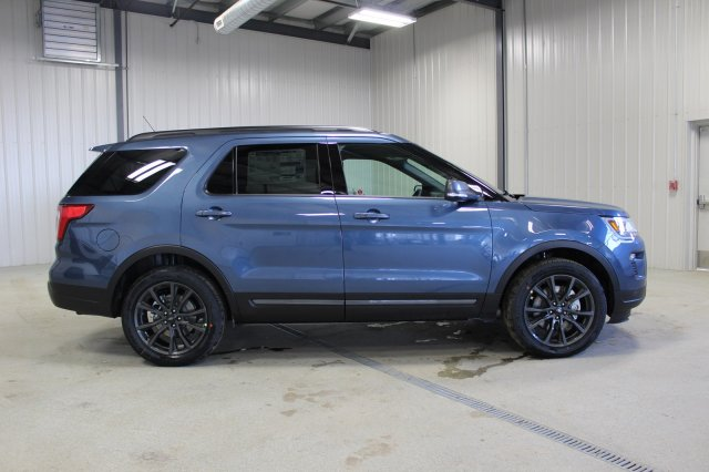 New 2018 Ford Explorer Xlt Appearance Package Sport Utility In Moose