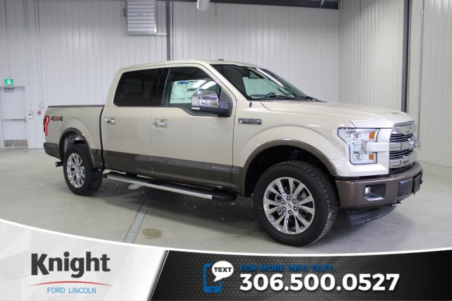 new 2017 ford f 150 lariat crew cab pickup in moose jaw fs7304 knight automotive group. Black Bedroom Furniture Sets. Home Design Ideas