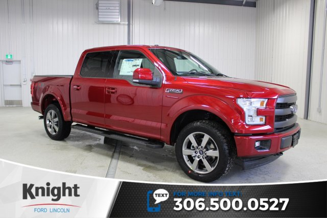 new 2017 ford f 150 lariat sport crew cab pickup in moose jaw fs7164 knight automotive group. Black Bedroom Furniture Sets. Home Design Ideas