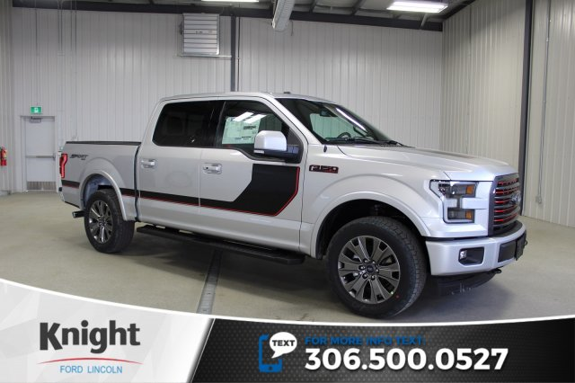 new 2017 ford f 150 lariat sport special edition crew cab pickup in moose jaw fs7185 knight. Black Bedroom Furniture Sets. Home Design Ideas