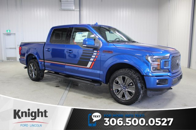 New 2018 Ford F-150 Lariat Sport Special Edition Crew Cab ...