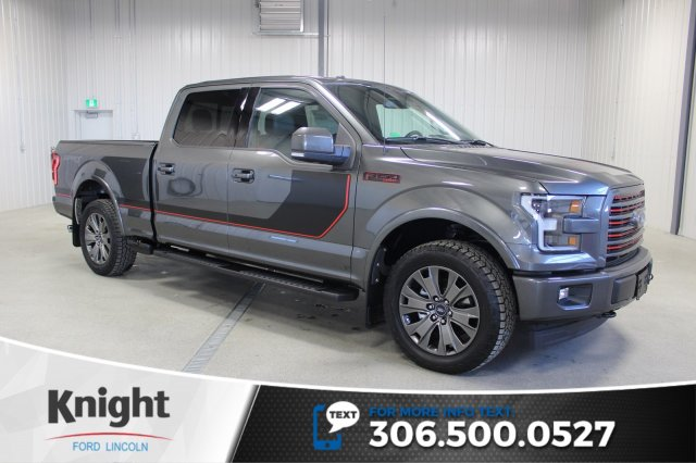 new 2017 ford f 150 lariat sport special edition crew cab pickup in moose jaw fs7462 knight. Black Bedroom Furniture Sets. Home Design Ideas