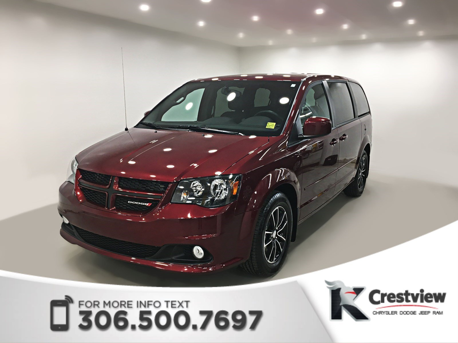 certified pre owned 2017 dodge grand caravan gt. Black Bedroom Furniture Sets. Home Design Ideas