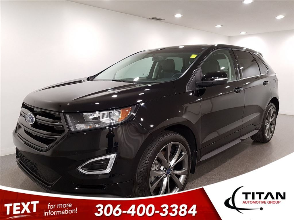 Pre Owned  Ford Edge Sport Awd Cam Ecoboost Nav Sony Remote Starter