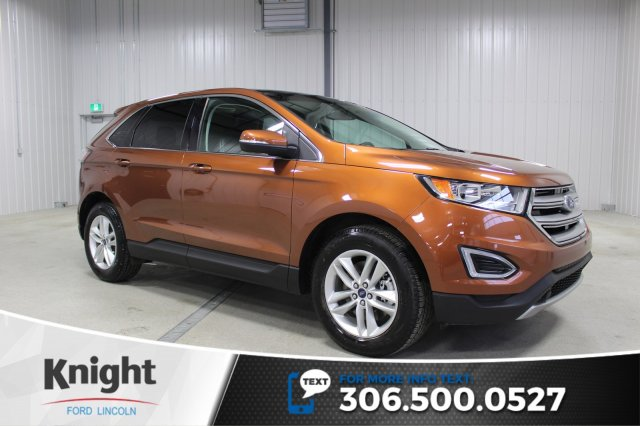 Certified Pre Owned  Ford Edge Sel Navigation Moon Roof
