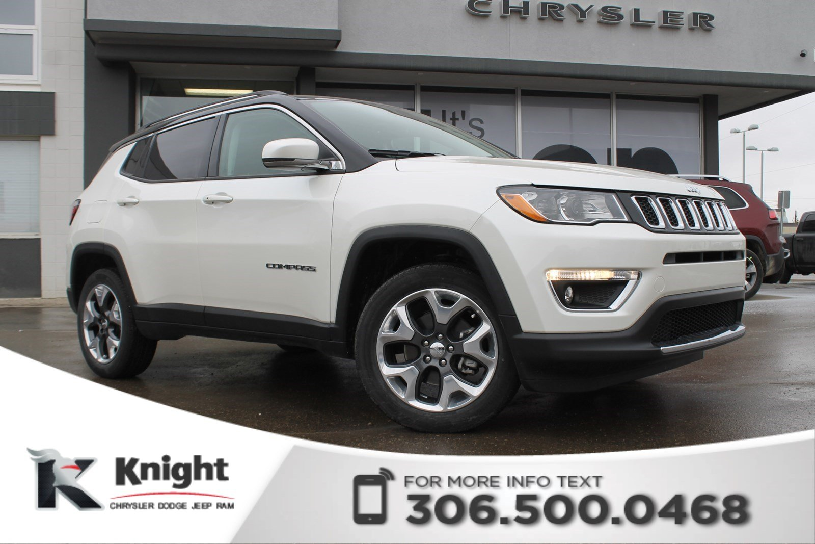 New 2018 Jeep Compass Limited 4x4 Sunroof Navigation