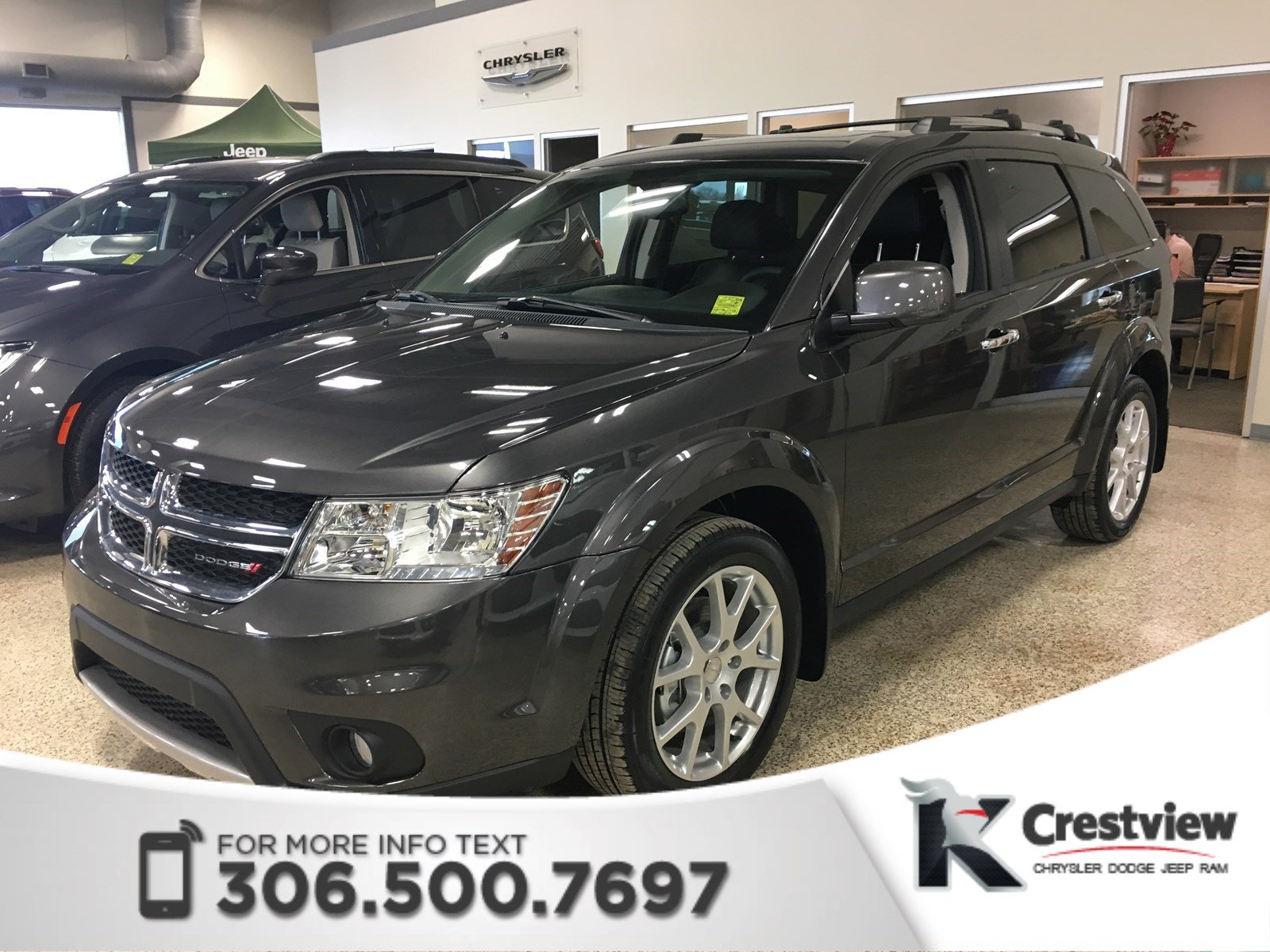 Certified Pre Owned 2017 Dodge Journey Gt Awd V6 Dvd Sunroof