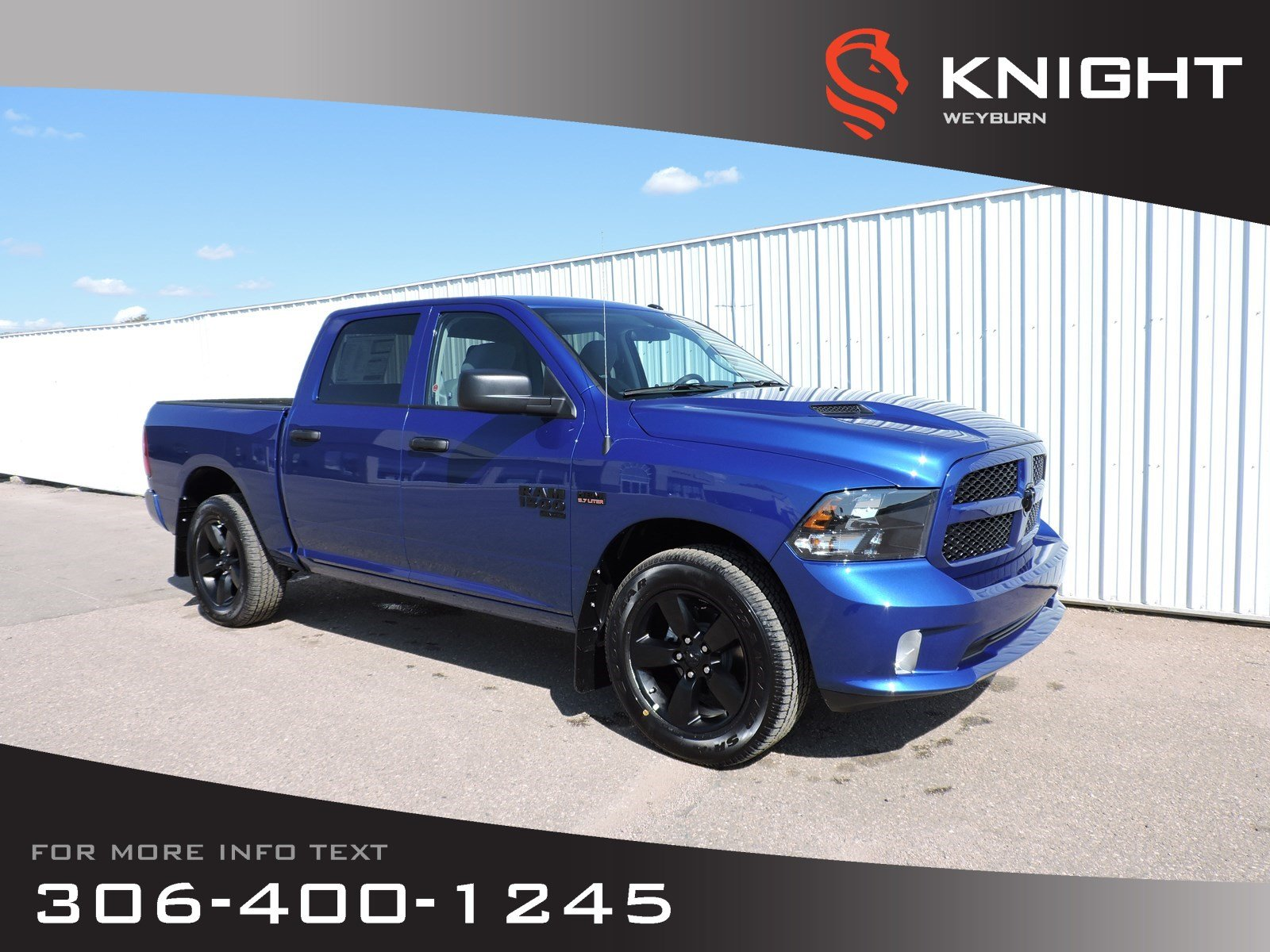 New 2019 Ram 1500 Classic Express Crew Cab | Fall Blow Out Sales Event | $243 Bi-Weekly + Tax