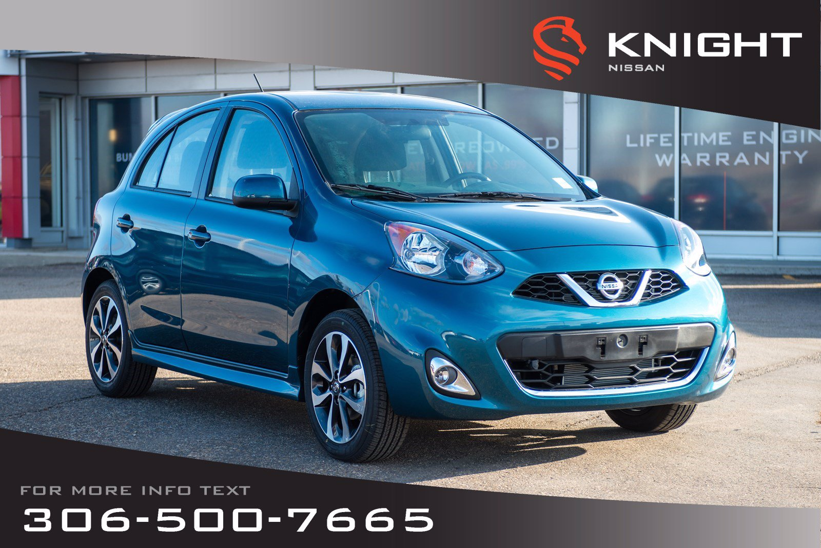 New 2019 Nissan Micra SR | Bluetooth | Back Up Camera