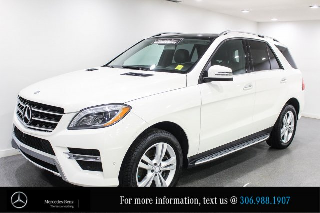Certified Pre Owned 2014 Mercedes Benz M Class ML350 BlueTEC®, 0.9
