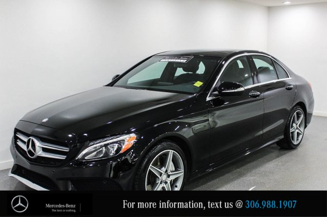Certified pre owned 2015 mercedes benz c class c400 3 for Mercedes benz financial services online payment