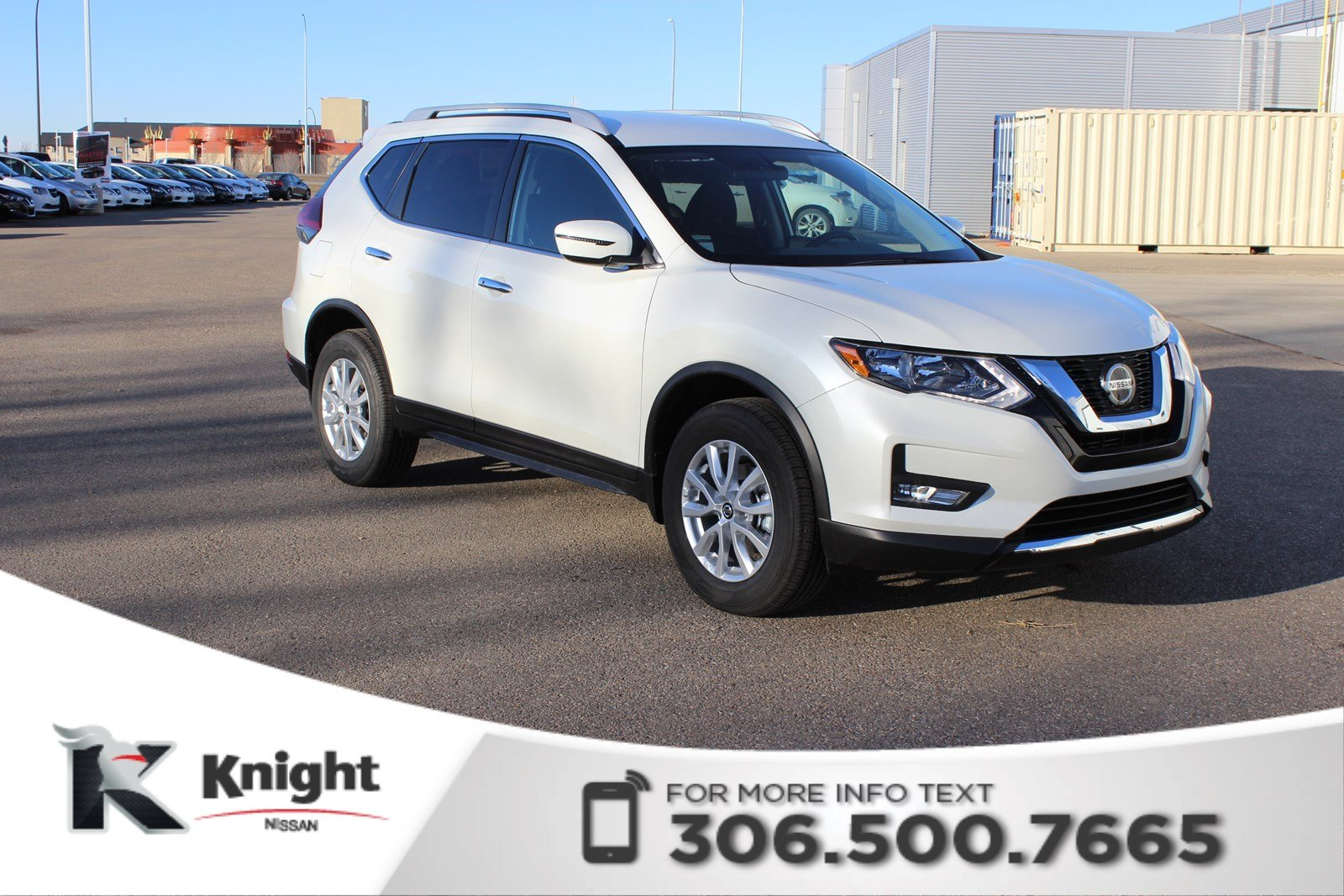 new 2018 nissan rogue sv comes with fuel card sport utility in swift current 2700. Black Bedroom Furniture Sets. Home Design Ideas
