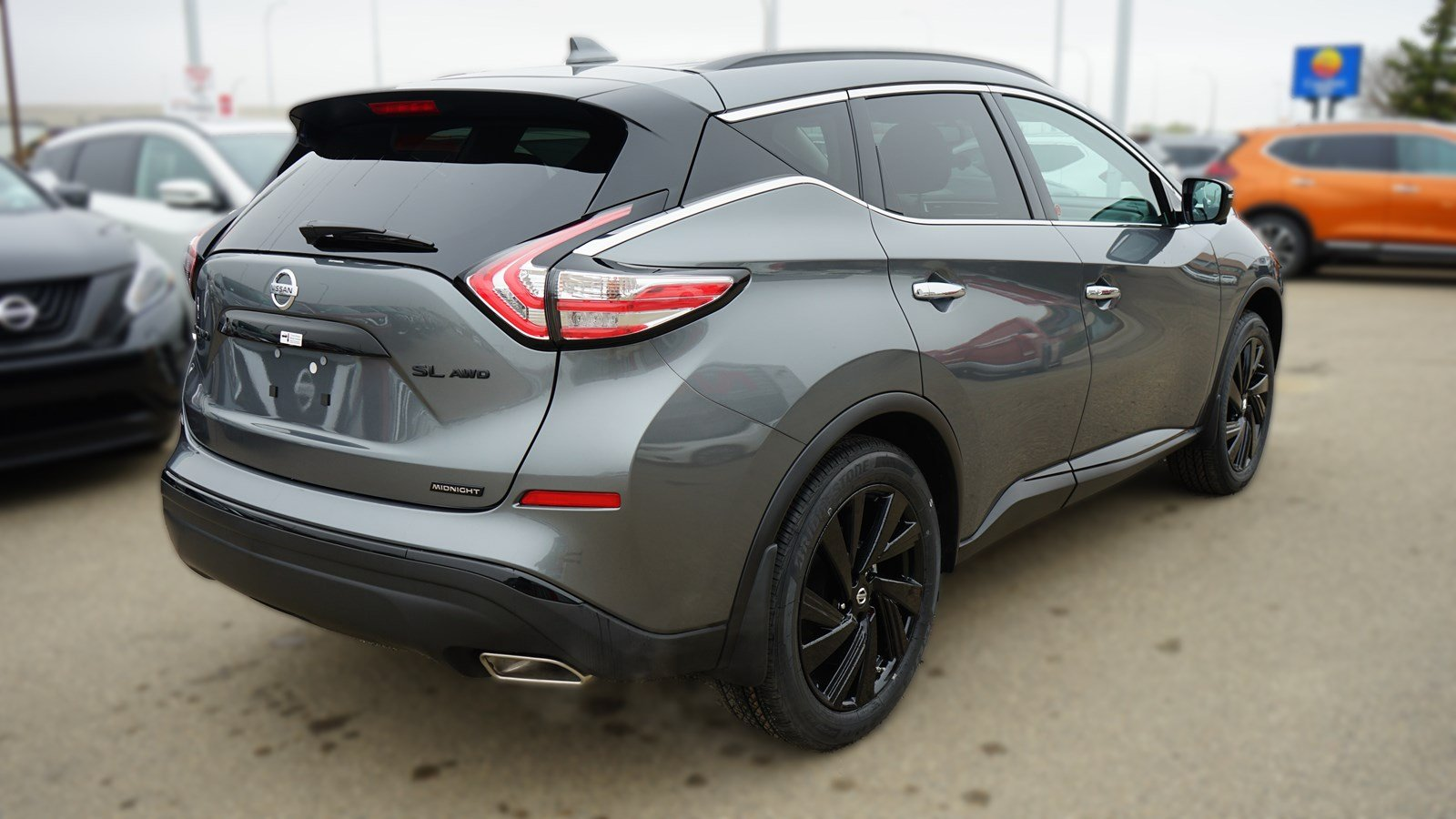 2018 nissan murano midnight edition pictures