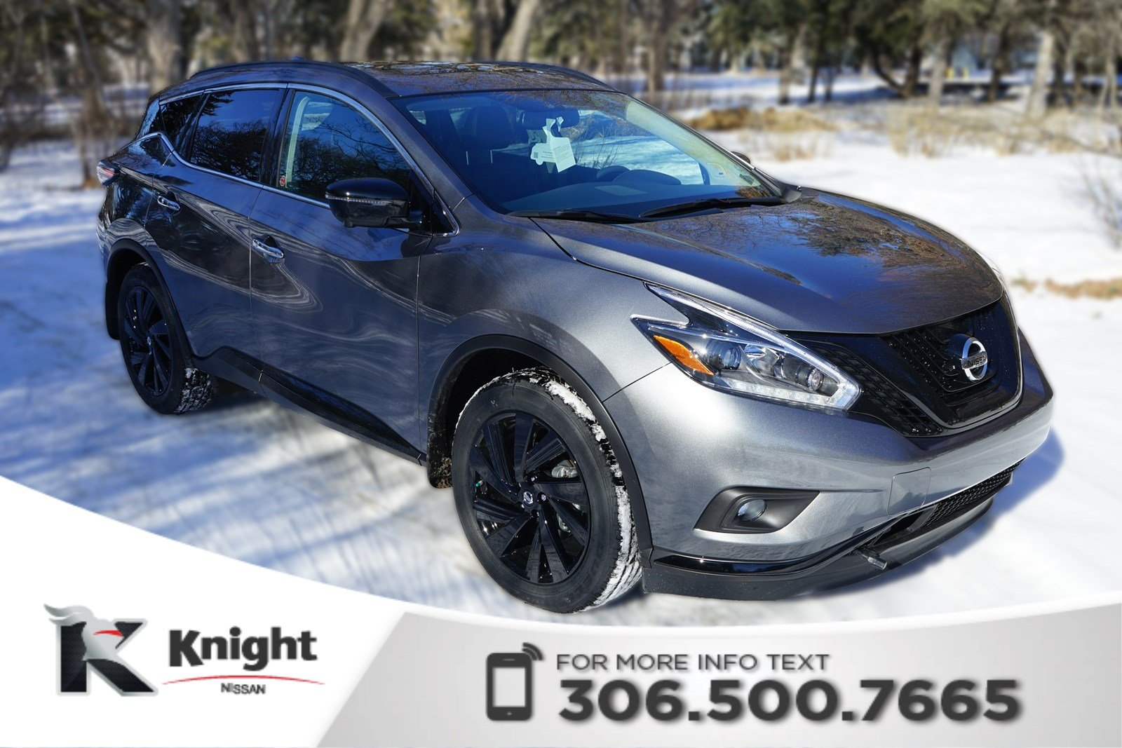 New 2018 Nissan Murano Midnight Edition Sport Utility in Swift ...