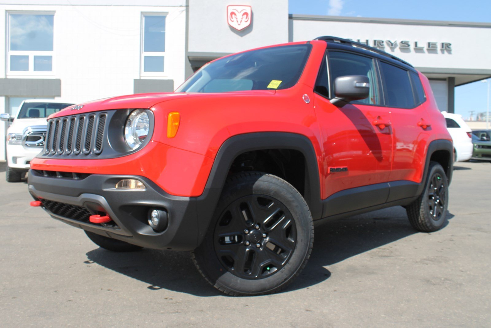 New 2018 Jeep Renegade Trailhawk 4x4   Heated Seats and ...