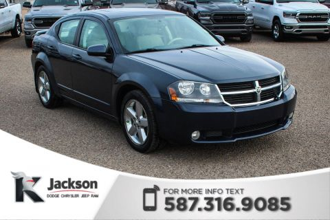 Pre-Owned 2008 Dodge Avenger R/T - Remote Start, Leather Heated Seats