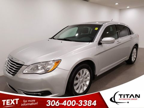 Pre-Owned 2012 Chrysler 200 Touring|Local|Htd Seats|Rims|Htd Mirrors