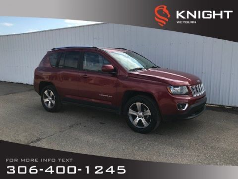 Pre-Owned 2017 Jeep Compass High Altitude Edition | Leather-Faced Seats | Sunroof | Navigation | Backup Camera | Heated Seats