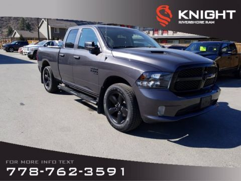 "New 2019 Ram 1500 Classic Express Quad Cab V6 | 8.4"" Touchscreen 