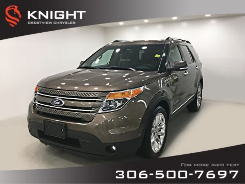 Pre-Owned 2015 Ford Explorer Limited 4WD | Leather | Sunroof | Navigation