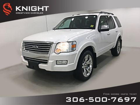 Pre-Owned 2010 Ford Explorer Limited AWD | Leather | Sunroof