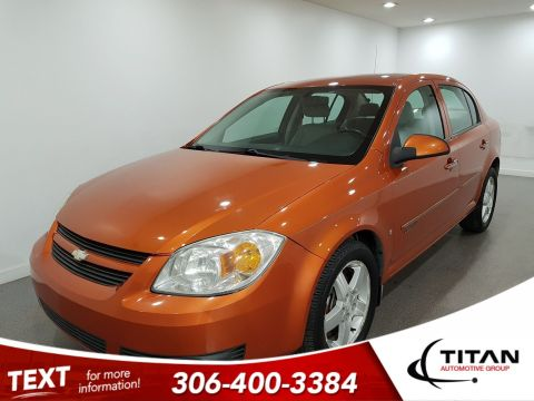 Pre-Owned 2007 Chevrolet Cobalt LT Auto Alloys Local low KMs Aux