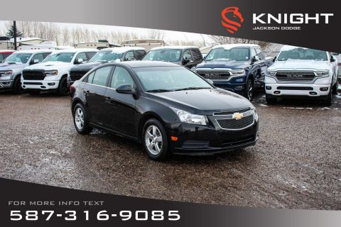 Pre-Owned 2012 Chevrolet Cruze LT Turbo+ w/1SB - Bluetooth, Satellite Radio