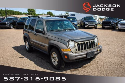Pre-Owned 2006 Jeep Liberty Sport - Affordable SUV