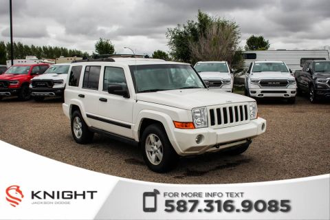 Pre-Owned 2006 Jeep Commander - Power Driver's Seat, Roof Rack