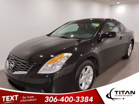 Pre-Owned 2009 Nissan Altima 2.5 S|Leather|Htd Mirrors|Rims|Htd Seats