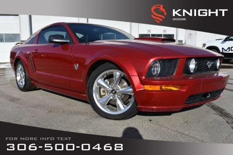 Pre-Owned 2009 Ford Mustang GT | Leather | Low KMs | Heated Seats