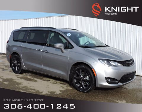 New 2020 Chrysler Pacifica Touring-L Plus S 2WD | Leather Heated Seats | Sunroof | NAV | DVD | Back-up Camera