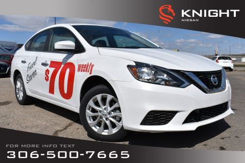 New 2019 Nissan Sentra SV | Style Package | Heated Seats | Back Up Camera | Bluetooth | Moonroof