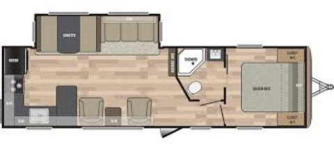 New 2018 SUMMERLAND 2930RK TRAVEL TRAILER