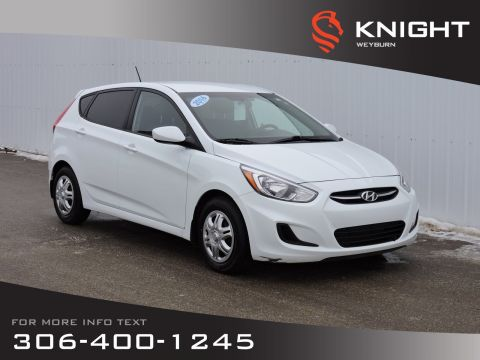 Pre-Owned 2016 Hyundai Accent GL | Low KM | Heated Front Seats | AM/FM/SiriusXM/CD/MP3 | Bluetooth | Fuel Efficient + Large Cargo
