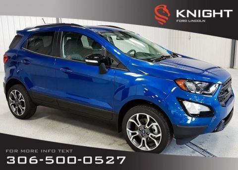 New 2019 Ford EcoSport SES