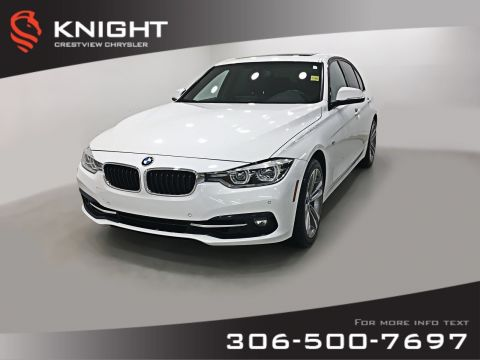 Certified Pre-Owned 2016 BMW 3 Series 328i xDrive AWD | Leather | Sunroof | Navigation